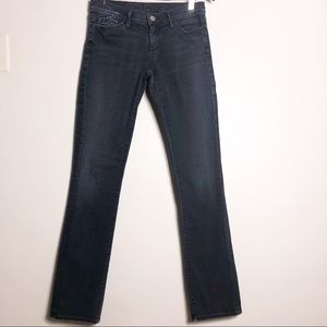 Goldsign straight leg mid rise jeans size 28